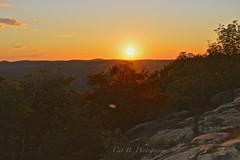 Mountaintop Sunset (Cat B Photography) Tags: sunset newyork colors nikon bearmountain sopretty mountaintop harrimanstatepark bearmountainstatepark perkinsfiretower