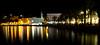 Split harbour, Croatia (Miche & Jon Rousell) Tags: sea water night reflections lights coast waterfront harbour croatia ripples split adriatic dalmatia dalmatiancoast