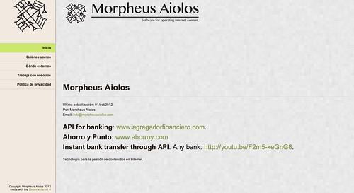 MorpheusAHomepage