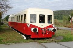 CFV3V (ex-SNCF) Picasso-diesel motor unit N 3998 in the station of Nismes. (Franky De Witte - Ferroequinologist) Tags: de eisenbahn railway estrada chemin fer spoorwegen ferrocarril ferro ferrovia