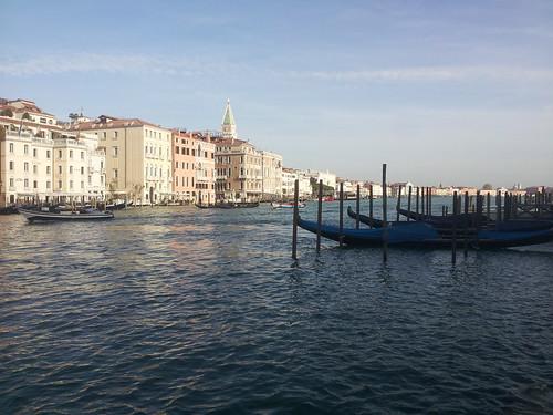 La belle Venise et ses gondoles