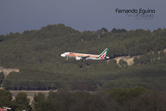 Alitalia Madrid Barajas (Fernando Eguino) Tags: madrid barajas avión t4 iberia spotter plane