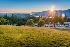 Burnaby Mountain Sunset (Daniel's Clicks) Tags: