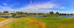 StoneyBrook West Golf Club (Thanks for over 2 million views!!) Tags: chadsparkesphotography centralflorida golfcourse golf stoneybrookwestgolfclub green palmtrees water waterfountain iphonecamera iphonese panaramic panaroma panoramic pano sky clouds bridge