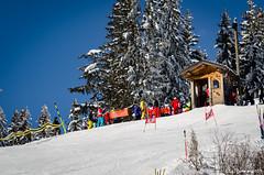 Cabane de départ (La Pom ) Tags: combloux flêche compétition descente géant moniteur ouvreur porte piste stade rodhos ski