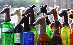 wet felted dog bottle toppers (adore62) Tags: bottletoppers feltedfido etsyshop etsyfeltedfido wetfelted felted felteddog bottle topper