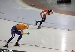 World Cup Kearns oval  Marrit Leenstra Netherlands winner vs Canada 1800m 2-19-2011 (steveellis12) Tags: wordcup