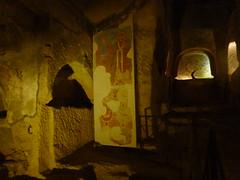 P1030034 (drayy) Tags: grave saint graves burial napoli naples catacombs catacomb sangennaro gennaro catacombe paleochristian catacombedisangennaro