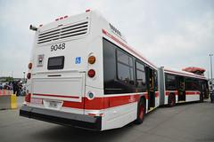 TTC NovaBus LFS Artic #9048 Rear (SteveC123!) Tags: bus nova ttc artic lfs bendy articulatedbus