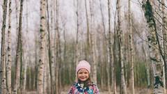 (Stelios Kirtselis) Tags: trees people nature girl canon suomi finland children koivu spring birch jrvenp lightroom luonto aina 2014 kevt lapsi puut tytt canon50mm18ii 5dmkii