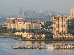 Edgewater on the Hudson River, New Jersey (jag9889) Tags: usa building architecture river newjersey unitedstates unitedstatesofamerica nj aerialview hudsonriver edgewater fortlee waterway gardenstate 2014 northriver bergencounty navigable 07020 zip07020 jag9889