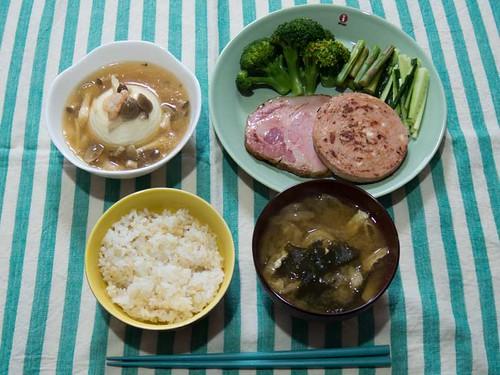 2014年6月10日の晩ご飯
