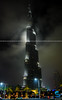 Burj Khalifa (sidd_photography) Tags: city building colors night clouds skyscraper nikon dubai tallest nikor