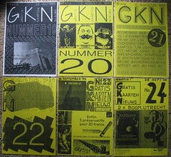 GKN free magazine 19-24 (streamer020nl) Tags: cards 1996 1993 postcards photocopy 1997 gratis 1998 1995 1994 a4 boomerang nimit nieuws kaarten freecards nieuwsbrief photocopied gocards gkn adpost schoolcards collegecards pubcards studycardscultcards