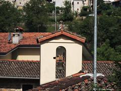 Bell-gable - Poffabro San Floriano (4) (Paolo Bonassin) Tags: italy churches chiese friuliveneziagiulia santuari poffabro bellgable glockengiebel campaniliavela