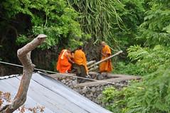 Or maybe they are just having a chat (oldandsolo) Tags: cambodia southeastasia buddhism battambang battambangprovince buddhistreligion northwestcambodia phnomsampeu buddhistfaith