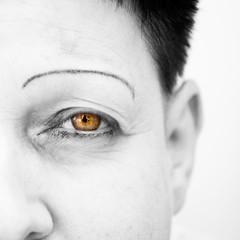 Mother (PatrickPhotoCZ) Tags: eye white backround people