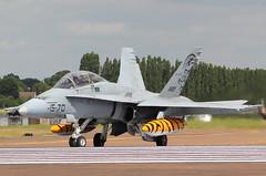 CE.15-01 EF-18 Hornet Spanish Air Force (GSairpics) Tags: plane flying war force aircraft air flight jet aeroplane spanish conflict hornet airforce ffd fairford riat airtattoo 1570 spanishairforce ef18 egva ce1501 gsairpics riat2014