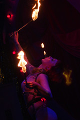 Missy Macabre (agruszka21) Tags: show green london club fire pentax working performance twin double event r bethnal mens peaks miss pageant k3 2014 pentaxart
