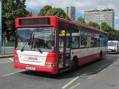 71, Royal Parade, Plymouth, 09/07/14 (aecregent) Tags: plymouth 71 citybus royalparade slf goahead plaxton dennisdart 090714 wa03bje