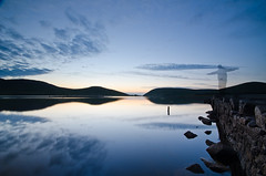 Watching over Deer's Meadow (Philip Blair's Photos) Tags: county ireland sunset mountains newcastle nikon long exposure dam meadow sigma down northern 1020 deers mourne ulster spelga d7000