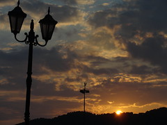 rising sun - Skiathos, Greece (vero pat) Tags: sky sun sunshine clouds rising east skiathos