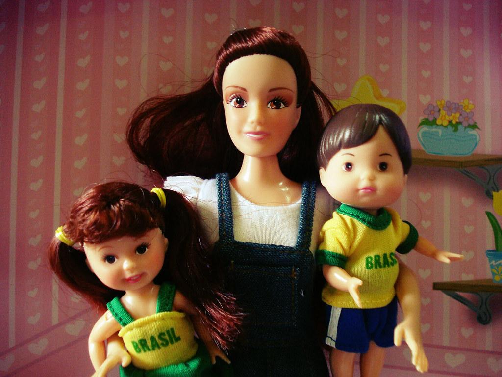 : world mike cup brasil boneco doll do barbie tommy paula similar da  #80423D 1024x768 Banheiro Da Barbie Lojas Americanas