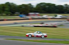 BARC Race Meeting MaX 5 Championship Mazda MX5 (Jim Hart) (motorsportimagesbyghp) Tags: barc motorracing sportscar jimhart motorsport brandshatch mazdamx5 britishautomobileracingclub max5championship paulsheardracing