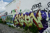 ENRON (Don't Sink) Tags: graffiti dc gare pear redline trackside enron nehi n4n