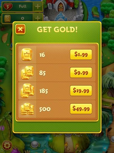 Charm King Virtual currency Bank: screenshots, UI