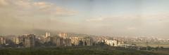 Mist falling down the hill, panorama (Dilian Velev) Tags: morning panorama nikon bulgaria 18105 yambol d5100