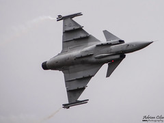 Sweden Air Force --- Saab JAS-39C Gripen --- 39227 (Drinu C) Tags: plane aircraft military sony saab dsc ffd fairford riat gripen theroyalinternationalairtattoo egva jas39c 39227 swedenairforce hx100v adrianciliaphotography