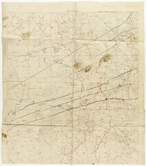 Map - Westhoek (Tasmanian Archive and Heritage Office Commons) Tags: war evacuation map westernfront ww1 1917 westhoek 19141918 polygonwood germantrenches 5australianfieldambulance