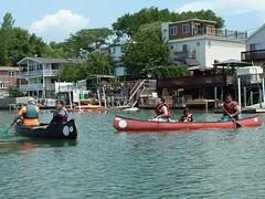 Bronx River Alliance Estuary Paddle (JeffReuben) Tags: nyc newyorkcity bronx canoe canoeing hardingpark bronxriver soundview oldtowncanoe clasonpoint bronxriveralliance cityofwaterday estuarypaddle