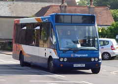 Stagecoach South 47539 (GX57 DKF) Chichester 18/7/14 (jmupton2000) Tags: uk bus sussex south solo coastline stagecoach southdown optare gx57dkf