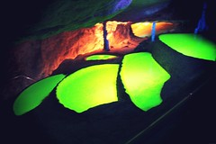 (bvanm) Tags: light canon lights visit caves ibiza cave visiting thecave portinatx
