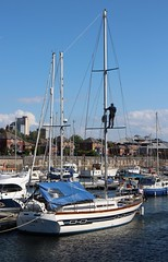 sailboats in the Dingle (Towner Images) Tags: copyright sailboat port liverpool river boat dock ship dingle vessel quay maritime wharf mersey seaport toxteth rivermersey towner brunswickdock townerimages ivyrosa