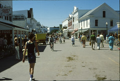 Mackinac Island July 1979 (Mark Mathu) Tags: trip vacation lake island michigan teenager 1979 huron teenage mackinac markmathu