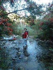 Look at this adventurous boy at San Javier
