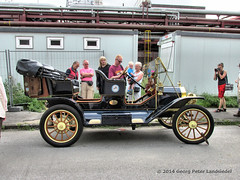 Ford Model T Tin Lizzy 1908 - Essen Zeche Zollverein_2654_2014-08-03 (linie305) Tags: world auto heritage cars ford car vintage tin essen meeting unesco vehicles vehicle historical oldtimer autos ruhrgebiet carshow lizzy modelt zollverein zeche 1908 kokerei weltkulturerbe historisch ruhrarea tinlizzy carmeeting