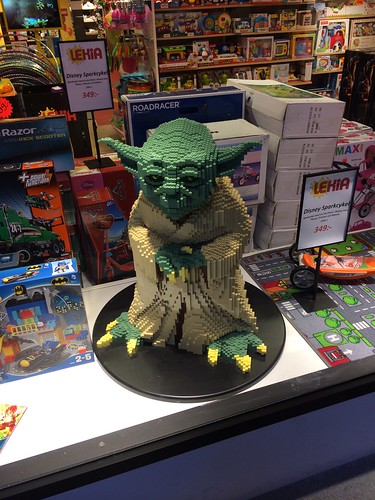 Lego Yoda,  Malmo, Sweden