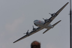 C-54 SKYMASTER (car_plane_train_guy) Tags: michigan wwii airshow b17 ww2 lightning thunderbirds dc3 warbirds warbird c47 p51 f86 p51mustang p38 thunderovermichigan b25bomber p63 yankeelady b17flyingfortress wwiireenactment c54skymaster p63kingcobra wwiiww2warbirds sabref86sabre