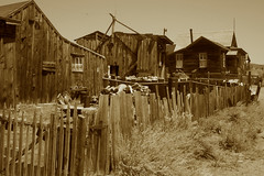 """""""In the Back"""" - Bodie Ghost Town Collection (Life_After_Death - Shannon Day) Tags: life california county wood old city houses house west art history mill abandoned sepia fence silver carson photography death gold mono town mine day desert antique nevada ghost 1800s dream eerie sierra mining collection shannon 49 pile rush dreams western historical after bodie residence artifact tone miner artifacts lumber 1900s hff lawless lifeafterdeath 49er shannonday fencefriday happyfencefriday lifeafterdeathstudios lifeafterdeathphotography shannondayphotography shannondaylifeafterdeath"""
