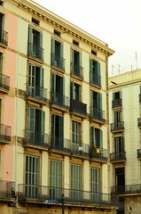 Barcelona (meeeeeeeeeel) Tags: barcelona city trip travel windows urban espaa building tourism architecture facade spain espanha europa europe catalunya turismo fachada faade pennsulaibrica