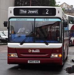 Edinburgh (Andrew Stopford) Tags: edinburgh pointer dennis dart slf lothianbuses plaxton sn53ave transportforedinburgh