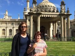 Touristing on Brighton.