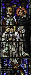 St Dominic clothes St Hyacinth (Lawrence OP) Tags: church washingtondc dominican habit stainedglass priory stdominics stdominic sthyacinth