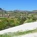 Sishen-Saldhana iron ore railway and the white sand dunes of Elands Bay
