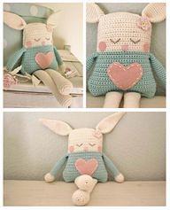 Crochet Rabbit Doll (preciouskidsgreatparents) Tags: rabbit kids parents doll paradise outdoor furniture great crochet precious wicker