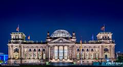 Bundestag Berlin (Mauricesunny) Tags: berlin night deutschland bundestag hdr duitsland berlijn
